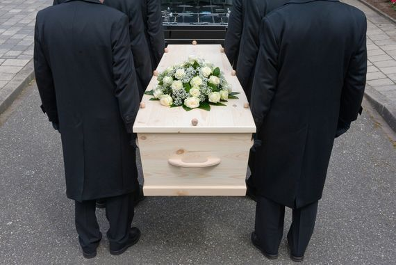 Best was unable to attend his wife\'s funeral. Stock photo
