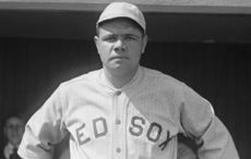 Thumb babe ruth red sox 1918 library of congress