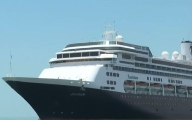 The Zaandam is two days away from Florida.