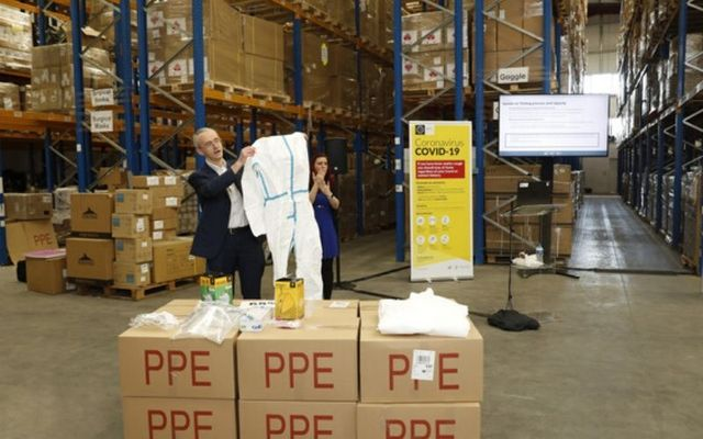 The HSE says that 20% of PPE equipment from China was unsuitable to use.