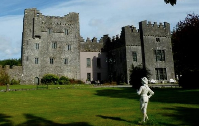 The glorious Portlick Castle, in Athlone, County Westmeath.
