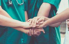 Thumb doctors nurses healthcare workers getty