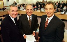 US Senator George Mitchell and The Good Friday Agreement