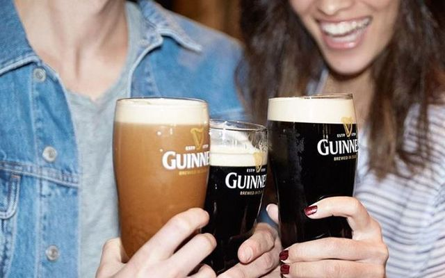 A virtual happy hour with Guinness.