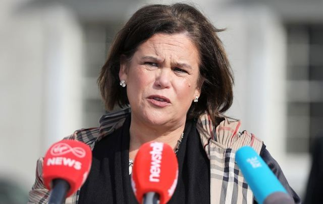 Mary Lou McDonald, president of Sinn Fein, confirmed on April 14 that she had tested positive for coronavirus.