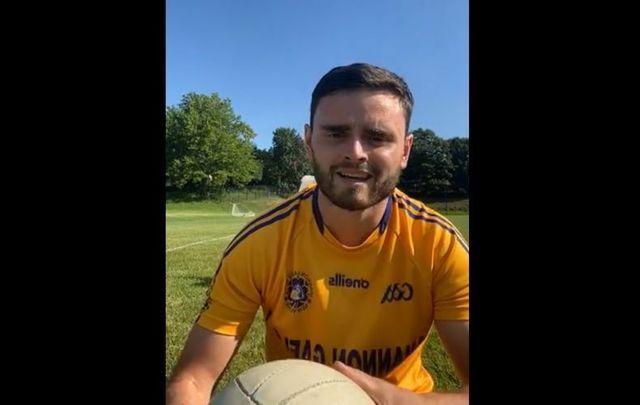 David McNamara from Shannon Gaels GAA hosting a live workout.