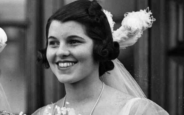 Rosemary Kennedy in 1938.