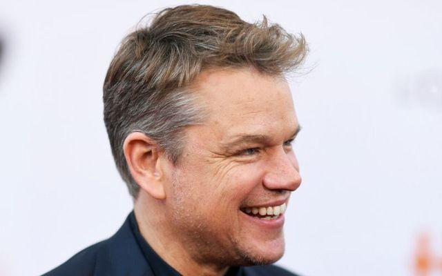 Matt Damon has been holed up in Dublin since March.