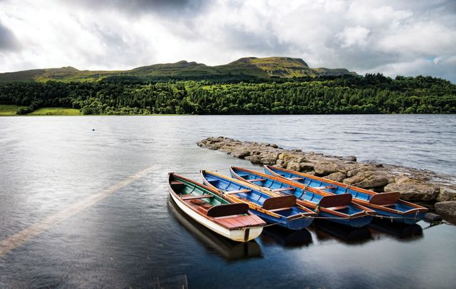 Soaking in the peace and beauty of County Leitrim and Sligo.