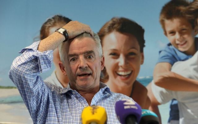 Ryanair Chief Executive Michael O\'Leary.