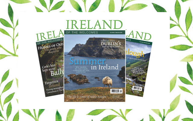 Enter to win your Mom a year-long subscription of Ireland of the Welcomes magazine!