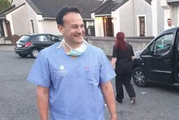 Ireland\'s leader, Dr Leo Varadkar, back working to fight COVID-19.