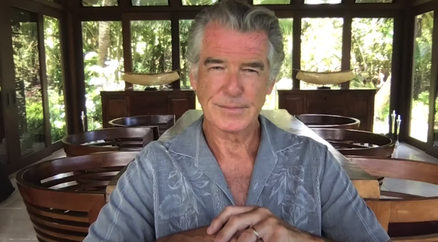Pierce Brosnan, lived from his home in Hawaii.