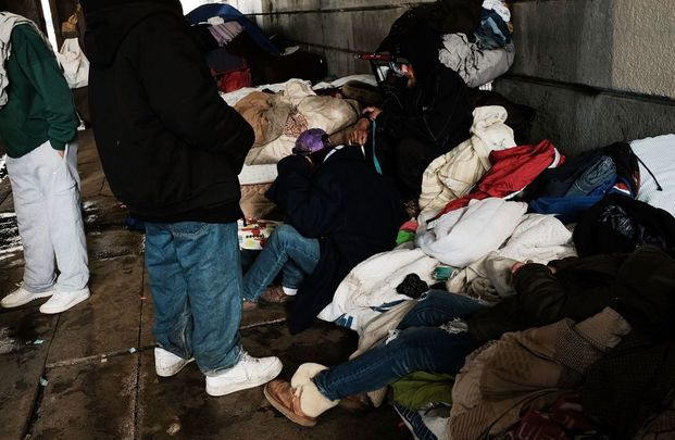 Opioid laid bare on the streets of Kensington, Philadelphia.