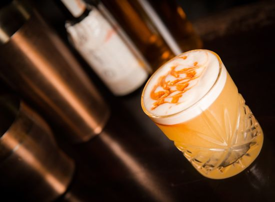 Irish Whiskey Museum\'s Whiskey Sour.