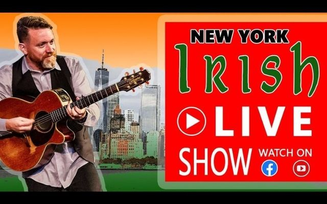 """Padraig Allen of the McLean Avenue Band is back streaming his \""""New York Irish Live\"""" tonight - tune in here!"""
