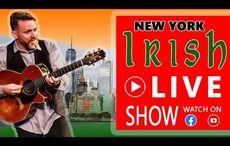 LIVE NOW: Irish musician Padraig Allen performs live from New York tonight!