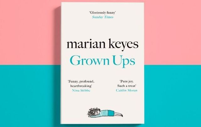 "Join the readers in IrishCentral\'s Book Club as we read ""Grown Ups\"" by bestselling Irish author Marian Keyes this month!"