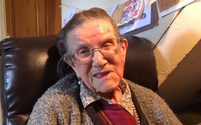 Nancy Stewart turned 106 last October.