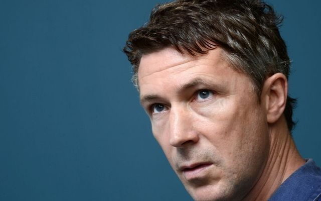 Aidan Gillen is one of the Dubliners to appear in the video.