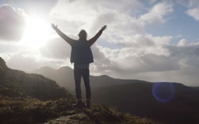 The video includes stunning shots of Ireland during COVID-19 lockdown.