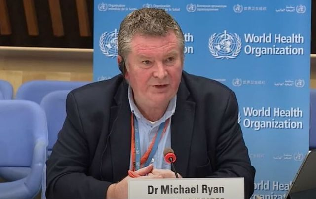 Dr. Michael Ryan said this week that the US has not produced evidence of coronavirus having originated in a lab in Wuhan, China.