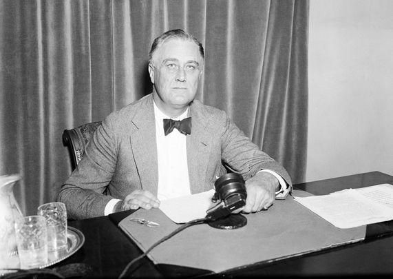 President Franklin Roosevelt.