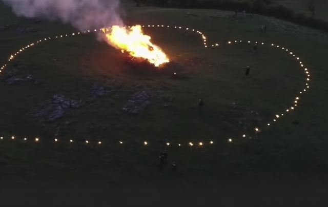 Despite COVID-19, the Neolithic, 5,000-year-old celebration of Bealtaine went ahead.