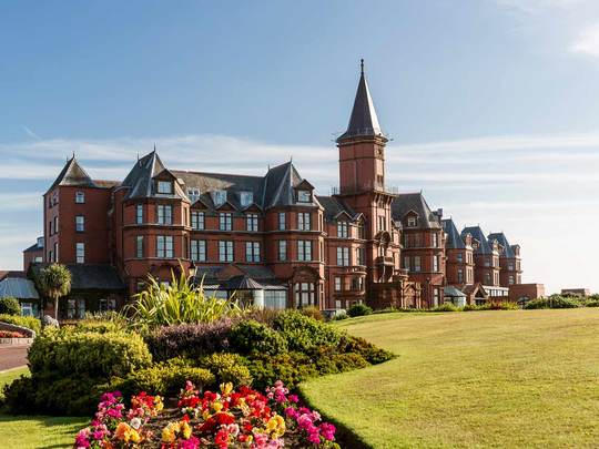 Slieve Donard Resort and Spa, in Newcastle, County Down.