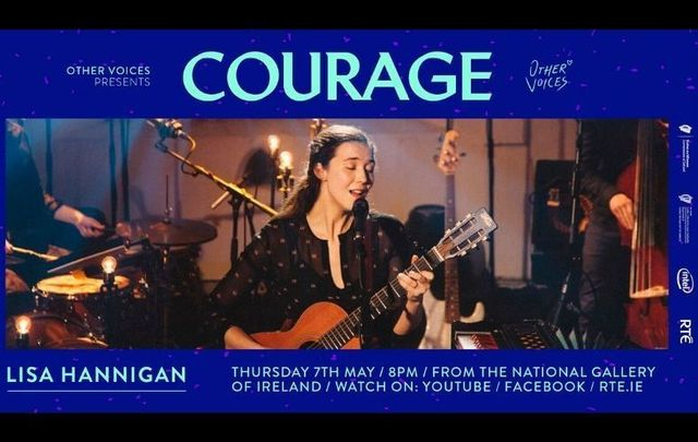 Tune in for a live performance from Irish singer-songwriter Lisa Hannigan today, May 7.