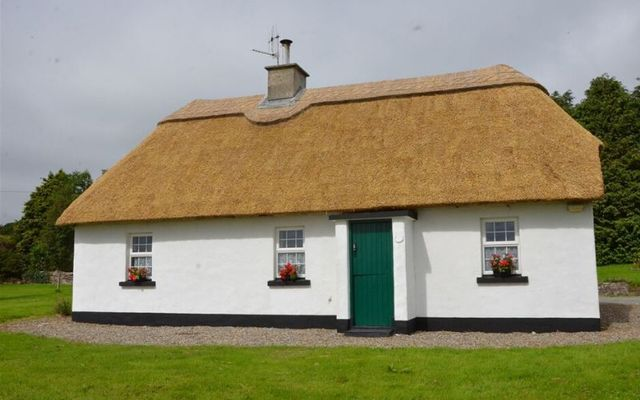 The cottage is located just outside the village of Feakle in County Clare.