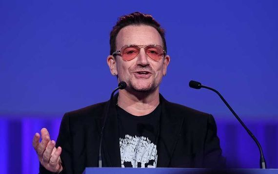 Bono talked about Damon\'s new temporary home on the Ryan Tubridy Show.