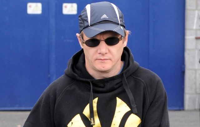 Larry Murphy as he is released from prison in August 2010.