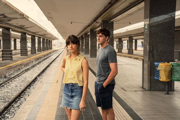 Paul Mescal and Daisy Edgar-Jones in Normal People.