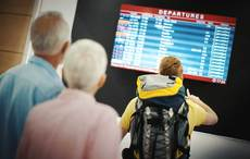 Thumb flight canceled airport covid   getty