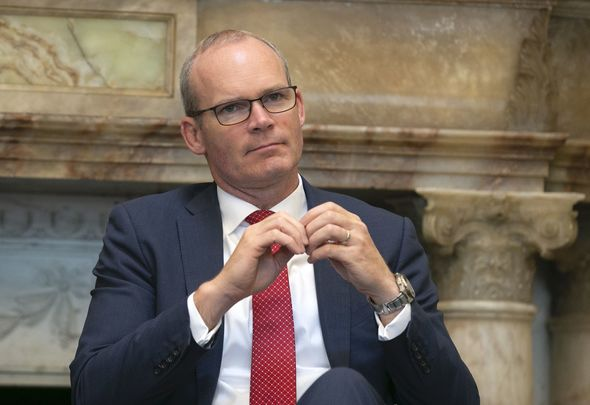 Tánaiste Simon Coveney, pictured here in January 2020.