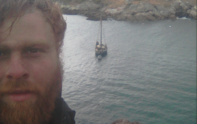 Darragh Carroll, a chef from County Dublin, completed a six-month epic solo adventure.