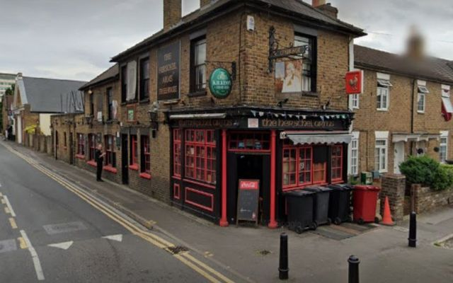 The Herschel Arms is located just outside of London.