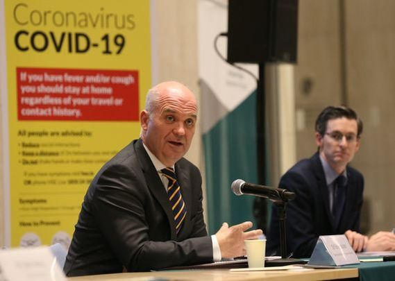 Tony Holohan confirmed that seven suspected cases of the syndrome are being investigated in Ireland.
