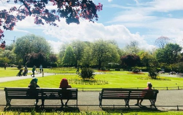 Temperatures in Ireland are set to climb during the week.