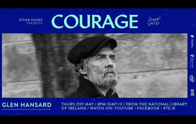 Glen Hansard will be performing live on May 21 from The National Library of Ireland.