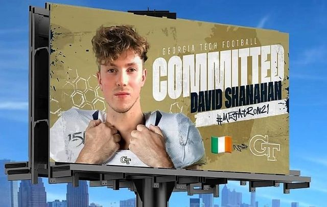 David Shanahan from Co Kerry has committed to Georgia Tech Football.