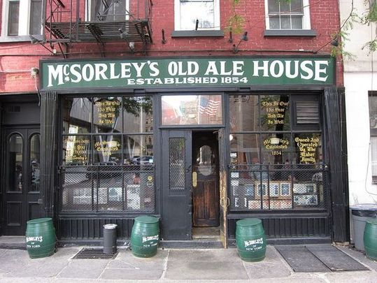 McSorley\'s Old Ale House has been closed since March.
