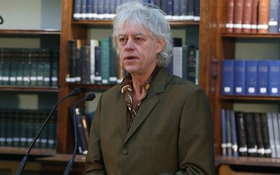 Bob Geldof was speaking ahead of the British release of a new Boomtown Rats documentary.