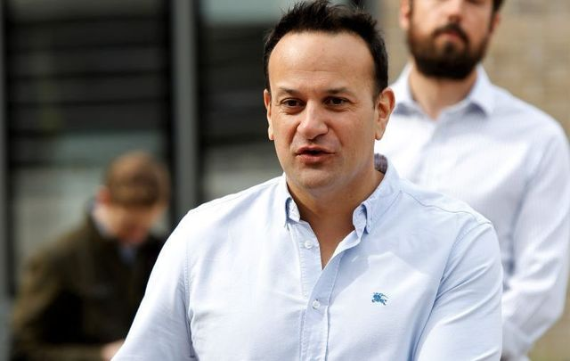 Taoiseach (Prime Minister) Leo Varadkar on April 22, 2020.