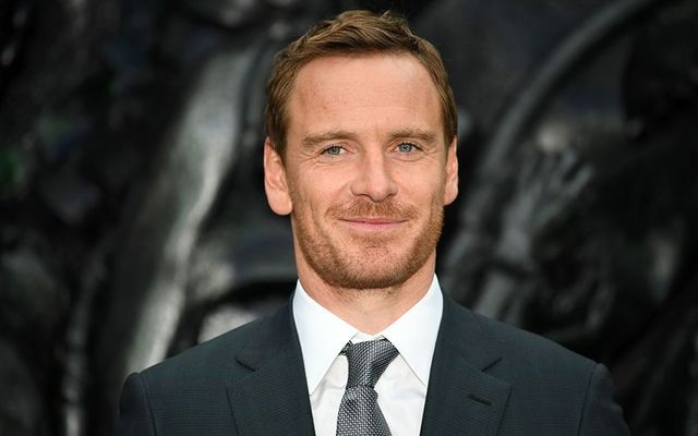 Irish German star Michael Fassbender.