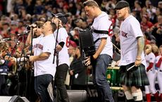 WATCH: Dropkick Murphys and Bruce Springsteen perform from Fenway Park!