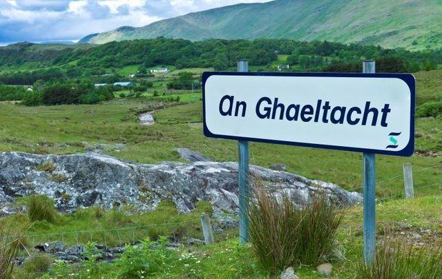 An Ghaeltacht in Connemara, County Galway.