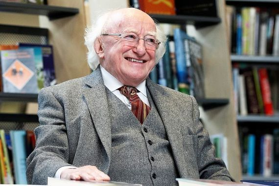 Michael D. Higgins was speaking on Friday\'s Late Late Show.