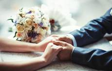 Thumb wedding hands gettyimages 465628840
